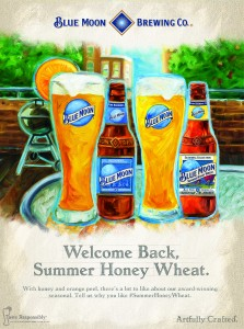 Summer Honey Wheat poster 14